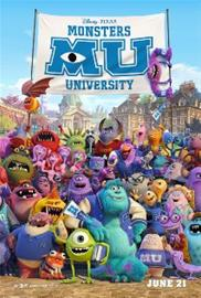 Monsterit-yliopisto (Monsters University, Blu-ray), elokuva