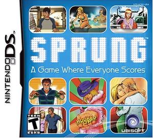 Sprung - The Dating Game, Nintendo DS -peli
