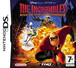 The Incredibles - Rise of the Underminer, Nintendo DS -peli