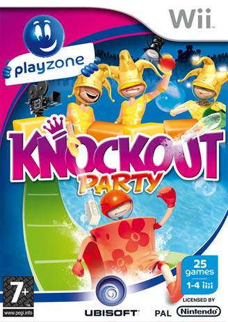 Playzone KnockOut Party, Nintendo Wii -peli