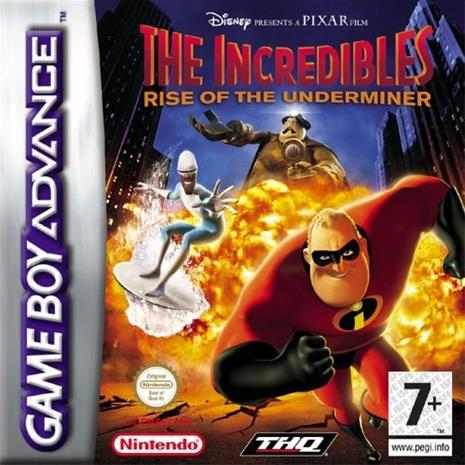The Incredibles - Rise of the Underminer, GBA-peli
