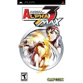 Street Fighter Alpha 3 Max, PSP-peli