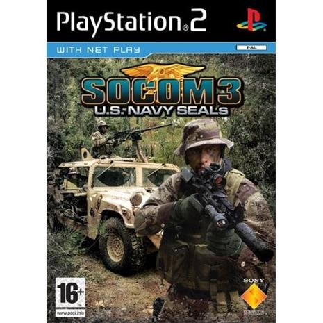 SOCOM 3 - U.S. Navy SEALs, PS2-peli
