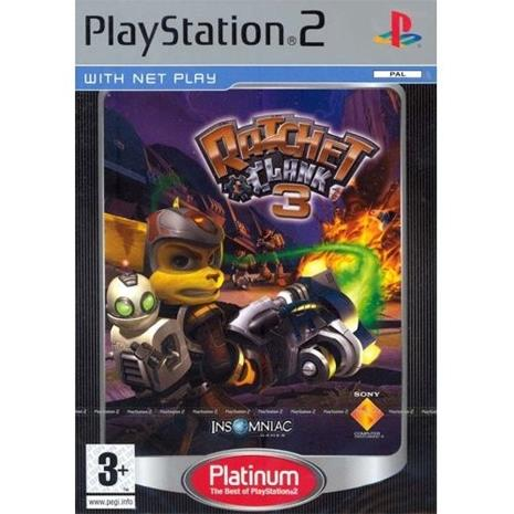 Ratchet & Clank 3: Up Your Arsenal, PS2-peli