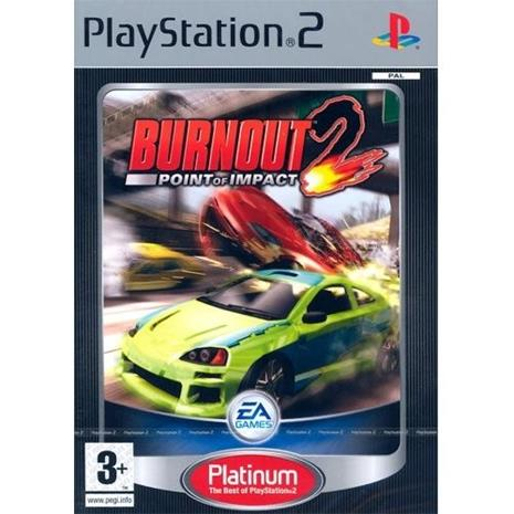 Burnout 2: Point of Impact, PS2-peli
