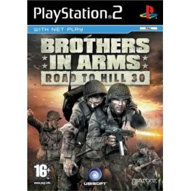 Brothers in Arms - Road to Hill 30, PS2-peli