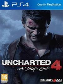 Uncharted 4: A Thief's End, PS4-peli