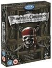 Pirates of the Caribbean: 1-4 (blu-ray), elokuva