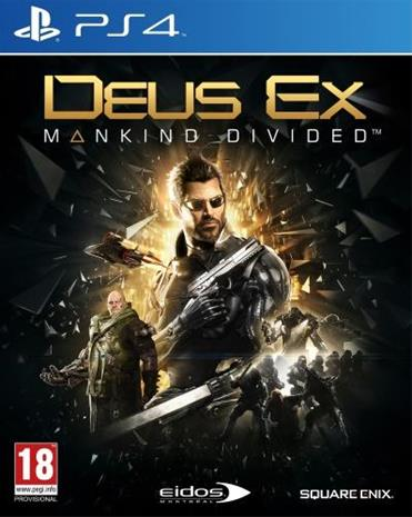 Deus Ex: Mankind Divided, PS4-peli