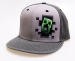 Minecraft Creeper, snapback-lippis