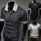 New Fashion Unique Style Casual Men Polo Shirt, miesten poolo paita