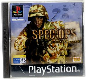 Spec Ops: Airborne Commando, PS1-peli