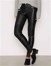 Only onlNEWHAM FAUX LEATHER PANTS OTW