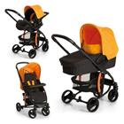 HAUCK Travel System Miami 4 Trioset, Caviar/Orange