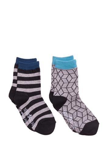 NOVA STAR Grey Cube Socks 14876837