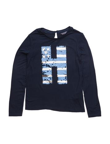 Tommy Hilfiger Girls Sparkle Cn Knit L/S 13927604