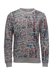 Hilfiger Denim Thdm Big Scribble Cn Hknit L/S 30 13981652