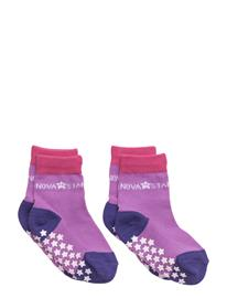 NOVA STAR Anti-Slip Purple Socks 14876833