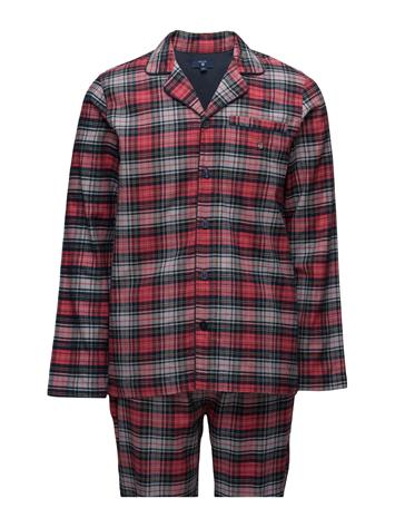 GANT Pajama Set Flannel Bleecker Check 14725251