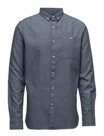 Knowledge Cotton Apparel Twill Melange Shirt - Gots 13941914