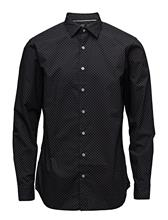 Mango Man Slim-Fit Polka-Dot Shirt 14504648