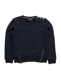 Tommy Hilfiger Cable Quilted Cn Hwk L/S 13927491