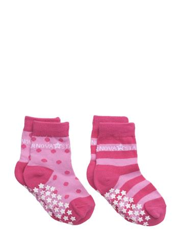 NOVA STAR Anti-Slip Pink Socks 14877038