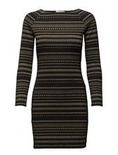 Mango Fitted Textured Dress 14683433