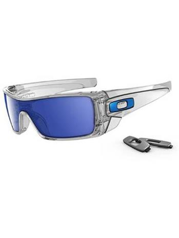 Oakley Batwolf polished clear ice iridium / valkoinen Miehet