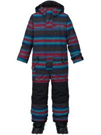 Burton Minishred Striker One Piece Boys seaside stripe / kuvioitu Jätkät