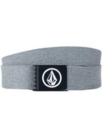 Volcom Circle Web Vyö charcoal heather / harmaa Miehet