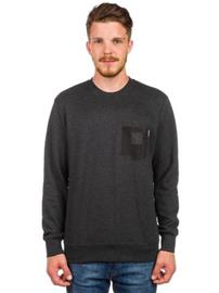 Carhartt Eaton Pocket Neulepaita black heather / black / musta Miehet