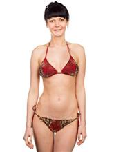 Billabong Jungle Jiive Set Bikini sahara / ruskea Naiset