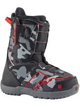 Burton Ambush Smalls 2017 Boys Lautailumonot black / red / musta Jätkät