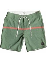 Quiksilver Stripe Scallop Boardshorts all day stripe bronze gre / vihreä Miehet