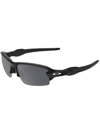 Oakley Flak 2.0 Polished Black black iridium polarized / musta Miehet