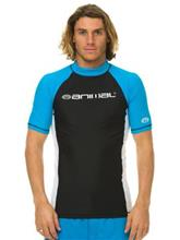 Animal Lowe Rash Guard hawaiian blue / sininen Miehet