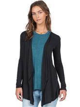Volcom Lived In Go Wrap Cardigan black / musta Naiset