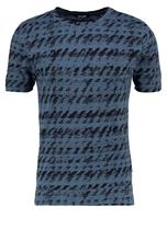 Only & Sons ONSAZIG FITTED Printtipaita orion blue
