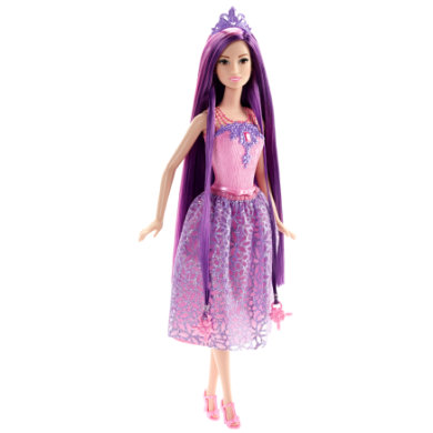 MATTEL Barbie Endless Hair Princess, violetti