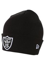 New Era Pipo essential cuff oakland raiders black