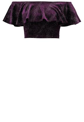 New Look Petite CROP Toppi purple