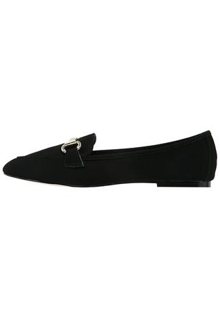Dorothy Perkins LEXIE Loaferit/pistokkaat black