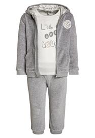 Kanz SET Collegetakki gray melange