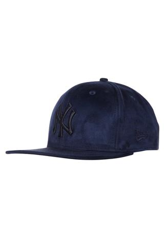 New Era 9FIFTY Lippalakki suede tone navy