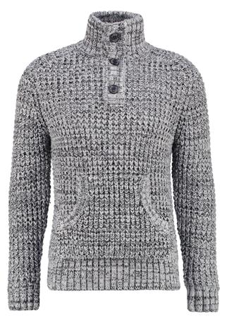 Superdry BERGEN Neule grey twist