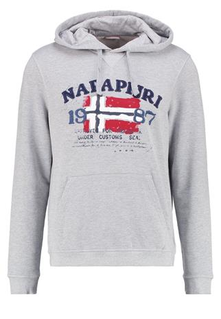 Napapijri BAYKY Collegepaita light grey mel
