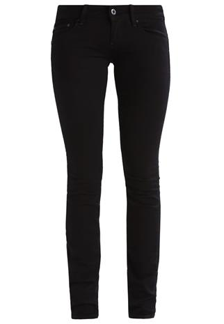 GStar 3301 LOW SKINNY SkinnyFarkut black veli superstretch