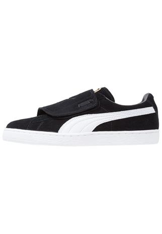 Puma SUEDE WRAP Matalavartiset tennarit black/white