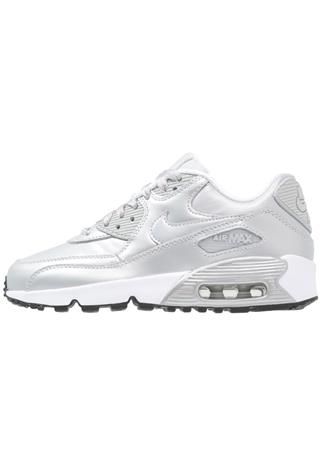 Nike Sportswear AIR MAX 90 SE Matalavartiset tennarit metallic platinum/pure platinum